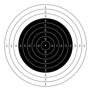 air gun target